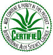 aloe certified
