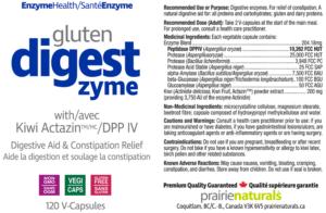 gluten digest zyme from Prairie Naturals