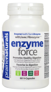 enzyme force from Prairie Naturals